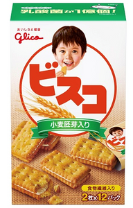 Peg group Glico Visco Cream Biscuits Cookies 格力高小麥胚芽夾心餅61g