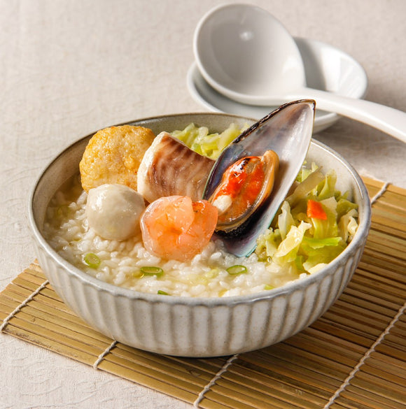 TIKING - Seafood Porridge (Kumbu Chicken Sauce) 海鮮粥(雞汁)