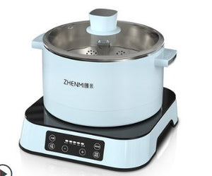 ZHENMI臻米 - Intelligent electric hot pot Cyan 智能自動升降電火鍋 青色 - seekit@brisbane