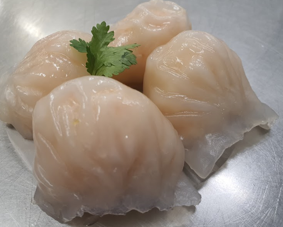Enjoy-inn Hamilton - Prawn Dumpling 港式鮮蝦餃  6粒 - seekit@brisbane