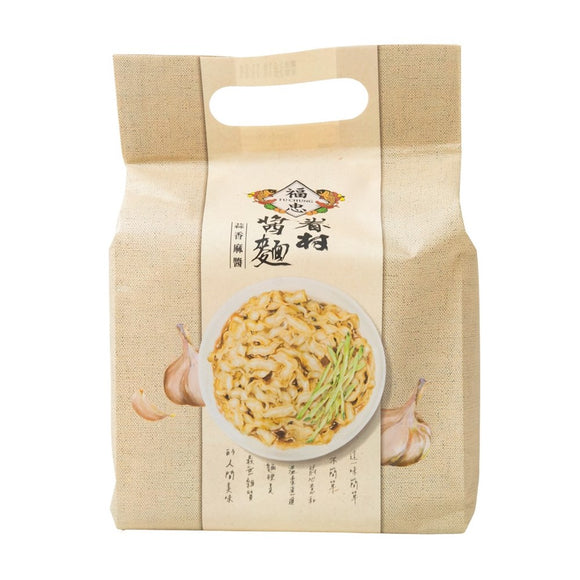 FUCHUNG - Village dry noodles with sauce-Garlic and Sesame(One Box)  福忠眷村醬麵-蒜香麻醬(1箱)