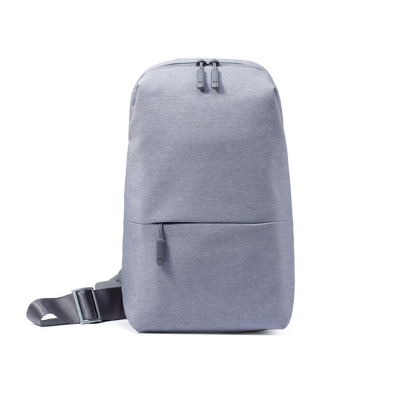 Xiaomi Mi City Sling Bag (Light Grey) 小米多功能休閒胸包 淺灰 - seekit@brisbane