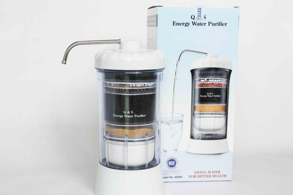 Q&S 8 Stage Energy Water Purifier System - seekit@brisbane
