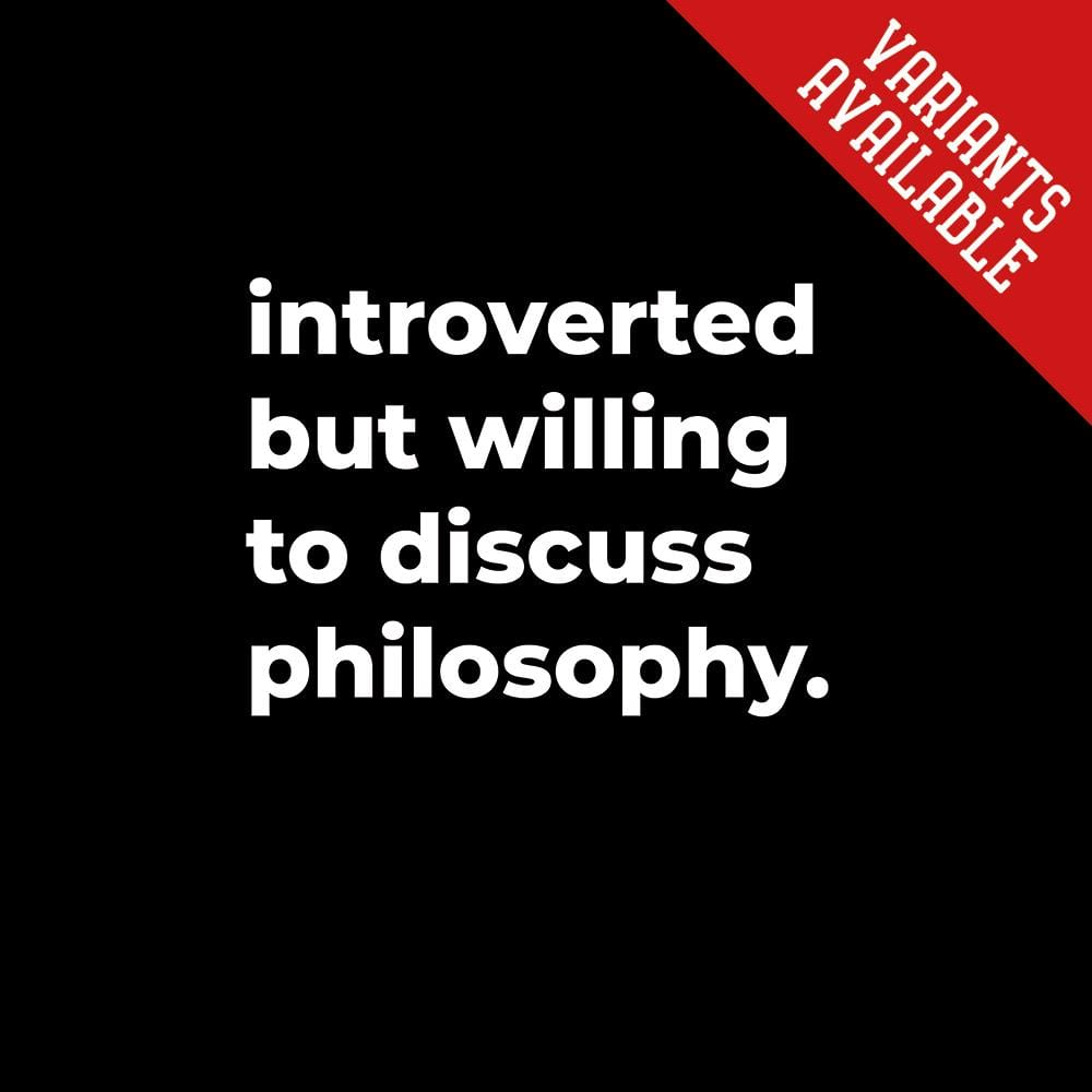 introverted but willing to discuss...