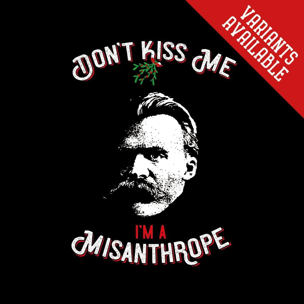 Don't kiss me, I'm a misanthrope