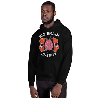 The Philosopher's Shirt Big Brain Energy <br><br>Hoodie