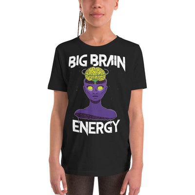 The Philosopher's Shirt Big Brain Energy <br><br>Kids T-Shirt