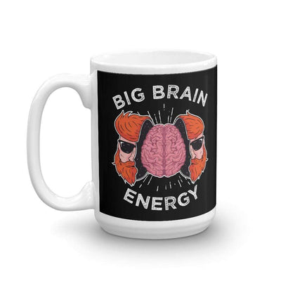 The Philosopher's Shirt Big Brain Energy <br><br>Mug