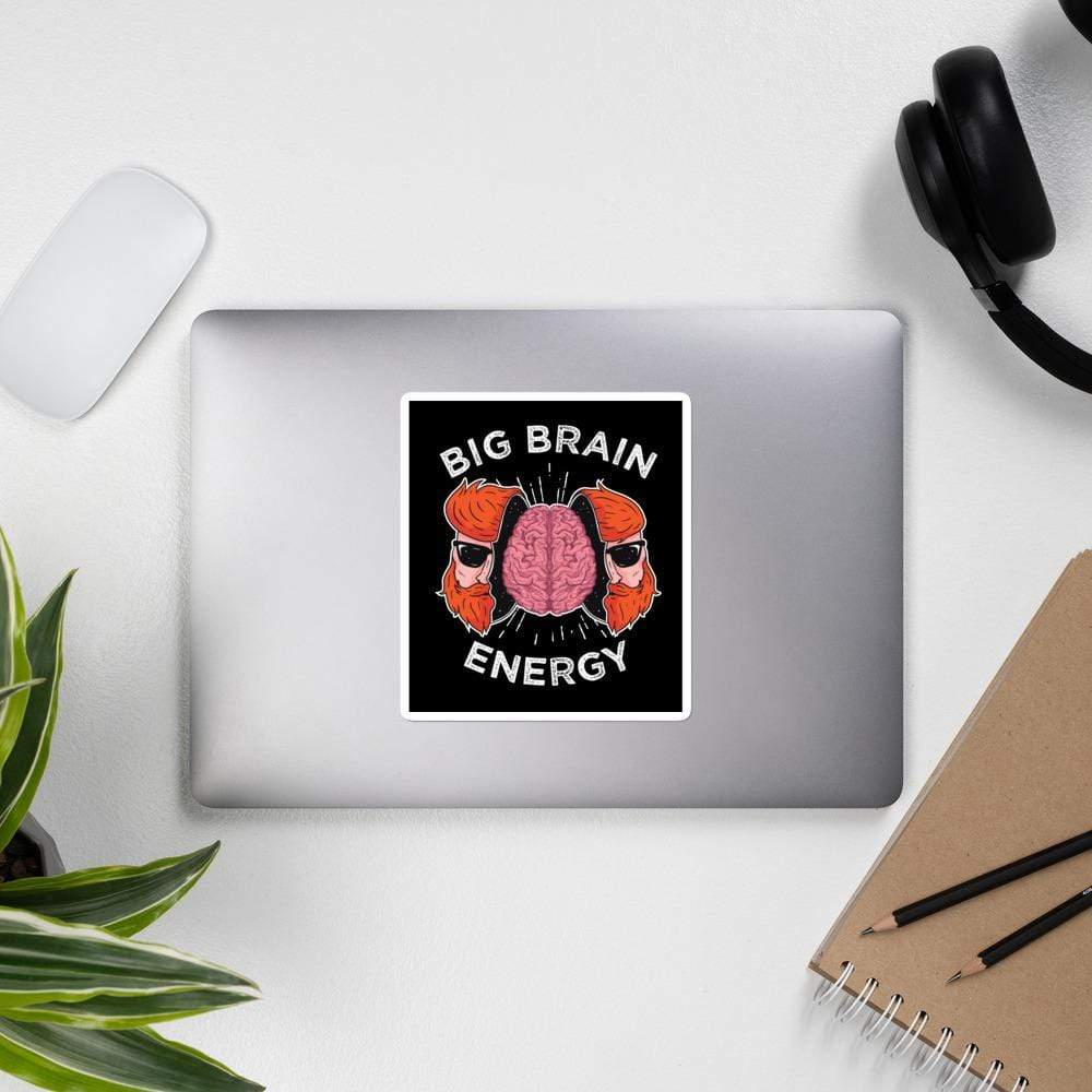The Philosopher's Shirt Big Brain Energy <br><br>Sticker