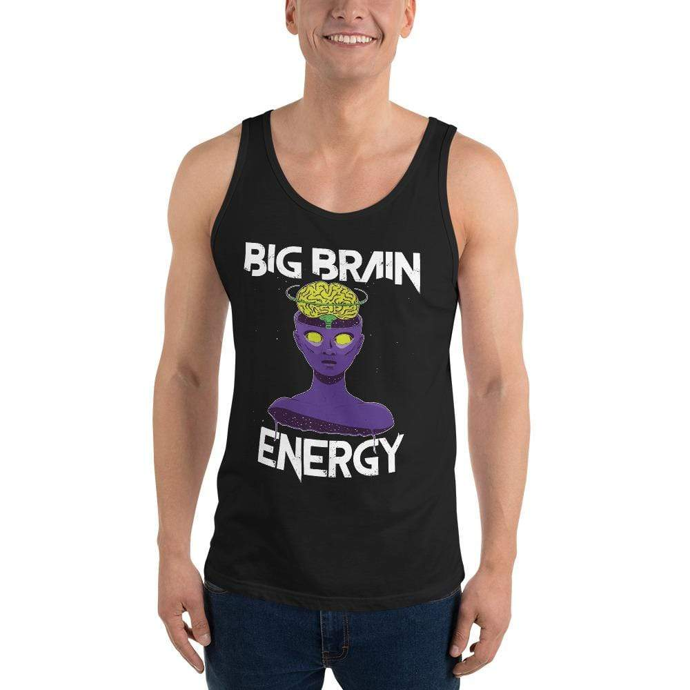The Philosopher's Shirt Big Brain Energy <br><br>Unisex Tank Top