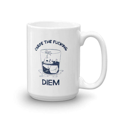 The Philosopher's Shirt Mug Carpe The Fucking Diem Vacation Design