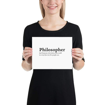 The Philosopher's Shirt Poster Definition of a Philosopher II <br><br>Poster