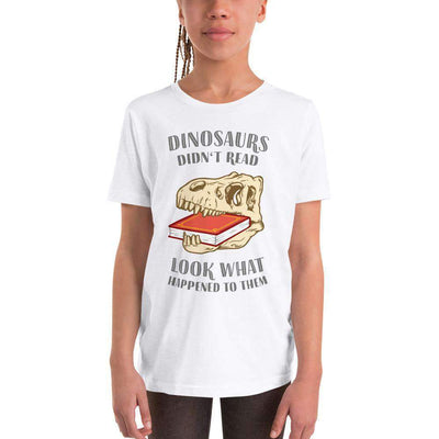 The Philosopher's Shirt Kids Shirt Dinosaurs Didn't Read - Look What Happened To Them