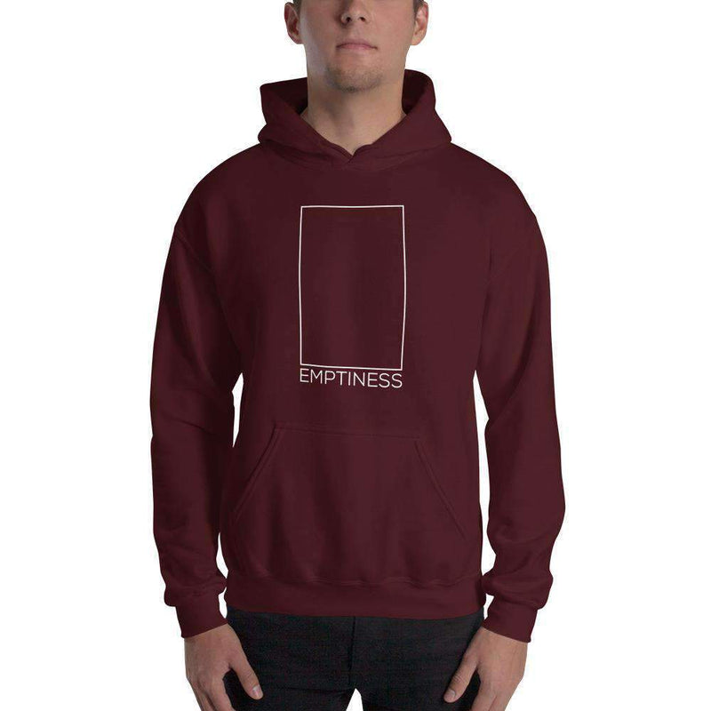 The Philosopher's Shirt Hoodie Emptiness Paradox - The Void Within