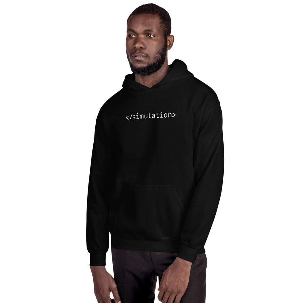 The Philosopher's Shirt End of Simulation <br><br>Hoodie