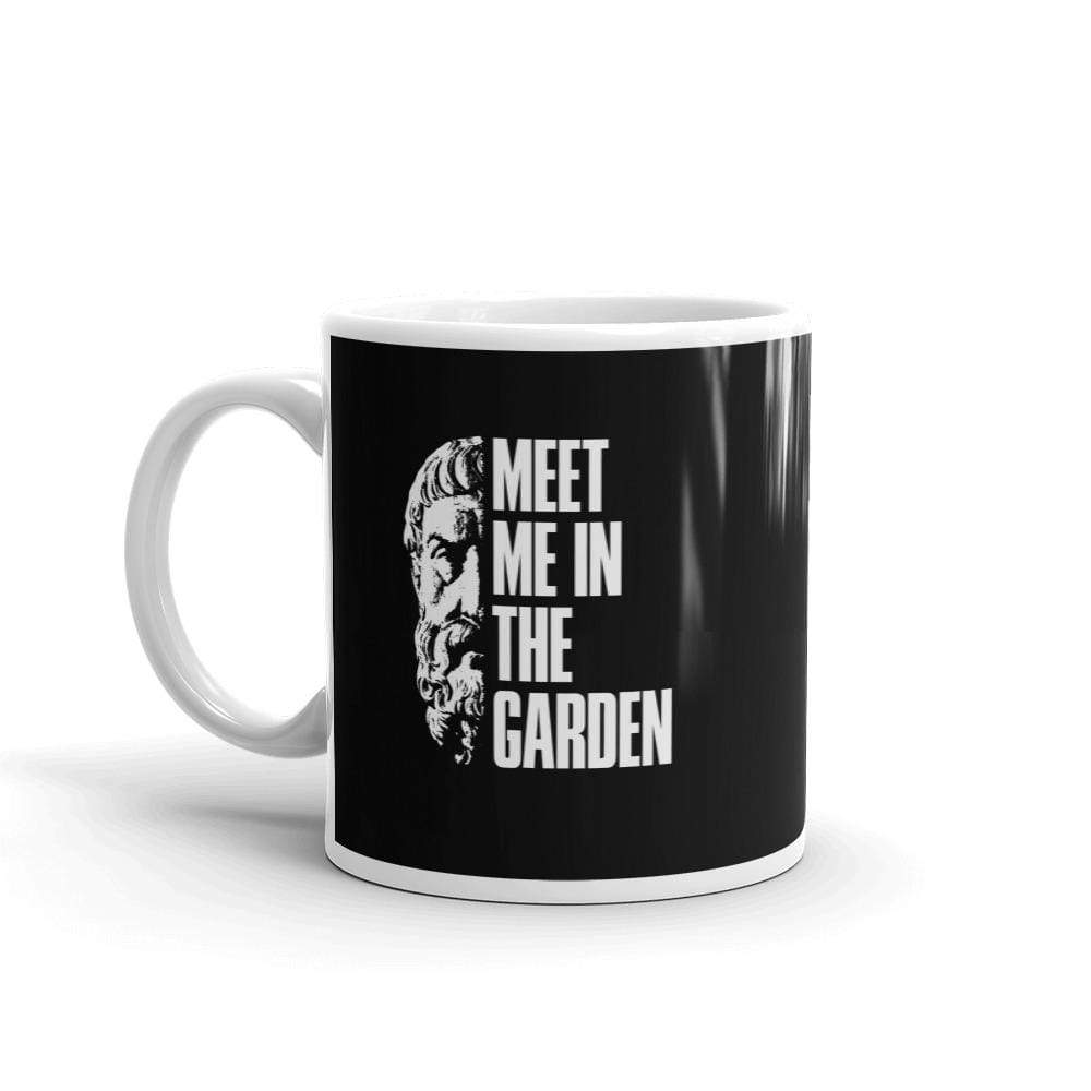 The Philosopher's Shirt Epicurus Portrait - Meet Me In The Garden