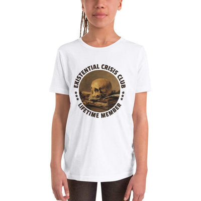 The Philosopher's Shirt Existential Crisis Club - Lifetime Member