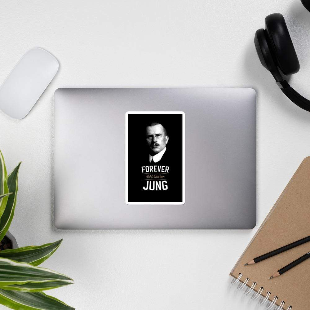 The Philosopher's Shirt Forever Carl Gustav Jung <br><br>Sticker