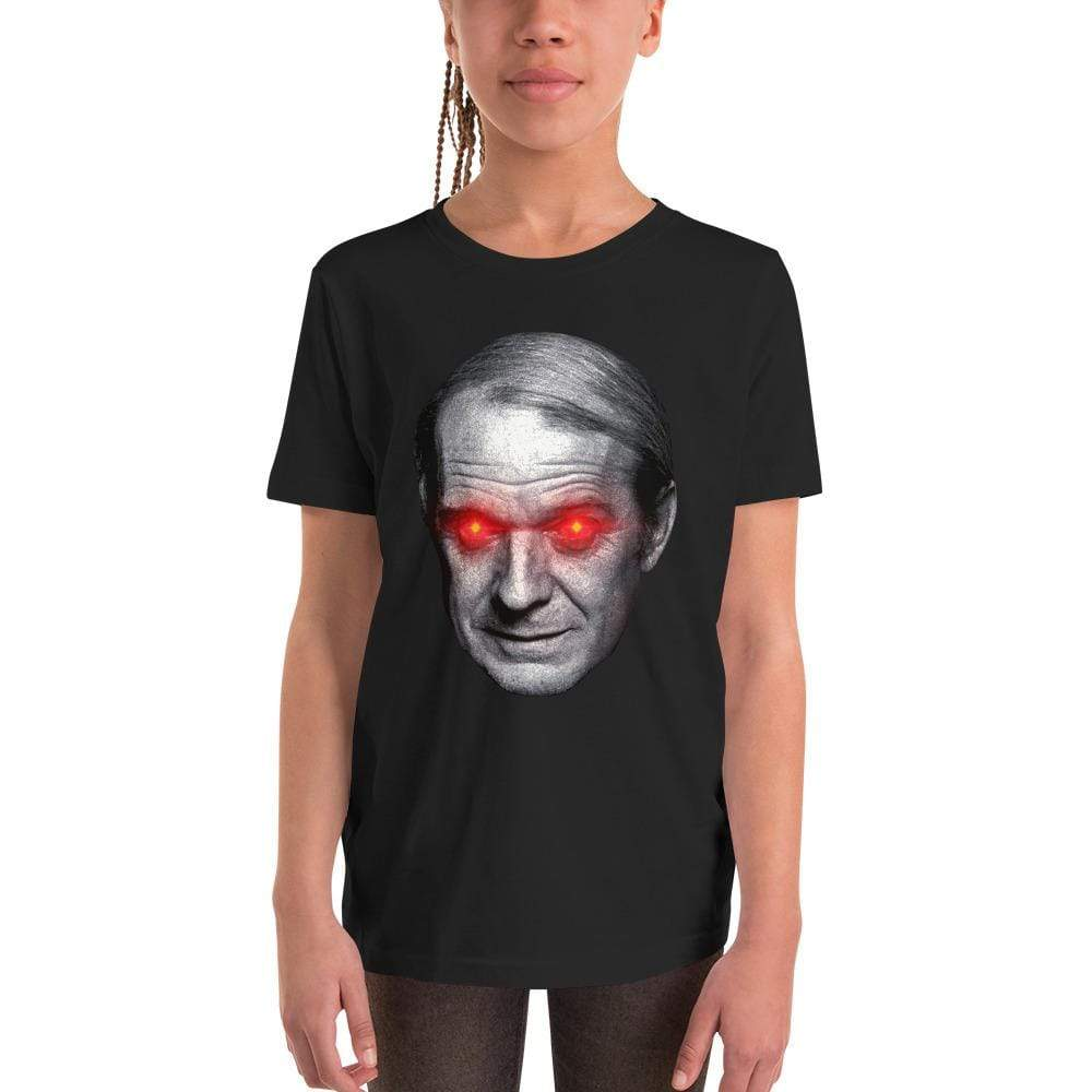 The Philosopher's Shirt Gilles Deleuze with Laser Eyes <br><br>Kids T-Shirt