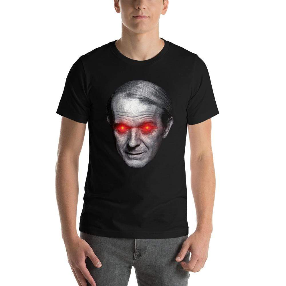The Philosopher's Shirt Gilles Deleuze with Laser Eyes <br><br>Unisex Basic T-Shirt