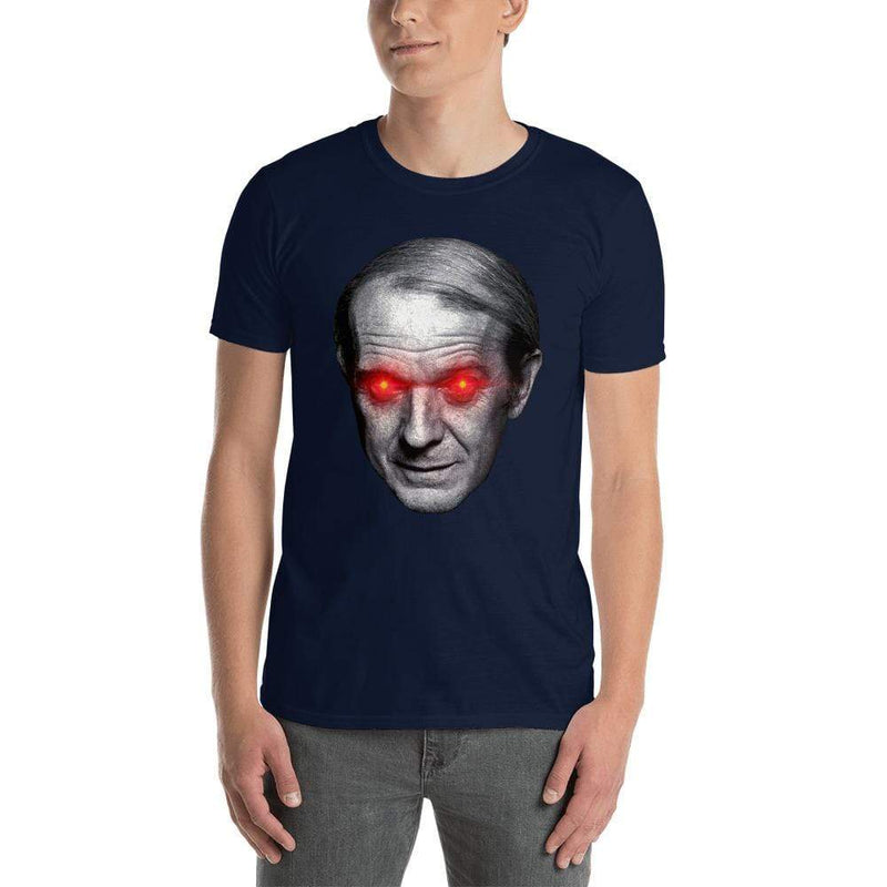 The Philosopher's Shirt Gilles Deleuze with Laser Eyes <br><br>Unisex Premium T-Shirt