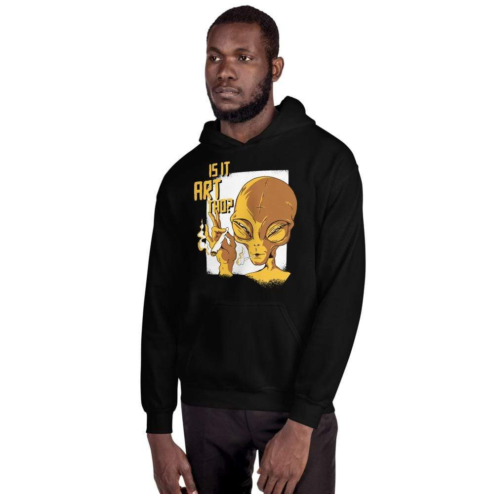 The Philosopher's Shirt Hoodie Is it art tho? <br><br>Hoodie