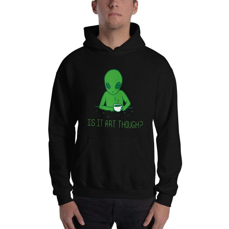 The Philosopher's Shirt Hoodie Is it art though? <br><br>Hoodie