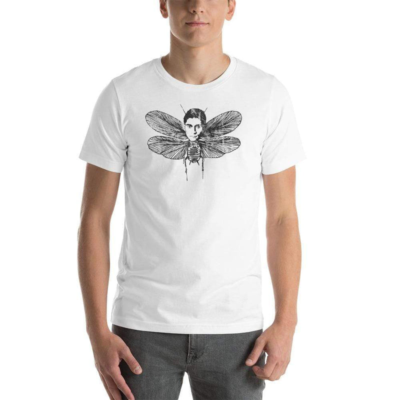 The Philosopher's Shirt Discounted - Regular T-Shirt Kafka Moth <br><br> Regular Shirt - Discounted