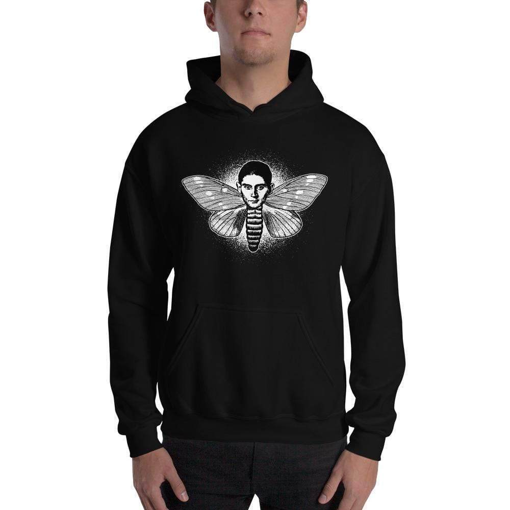 The Philosopher's Shirt Kafka the Moth <br><br>Hoodie