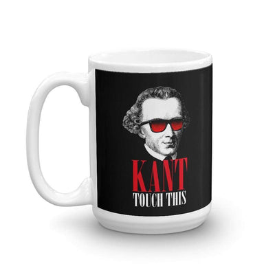 The Philosopher's Shirt Mug Kant touch this <br><br>Mug