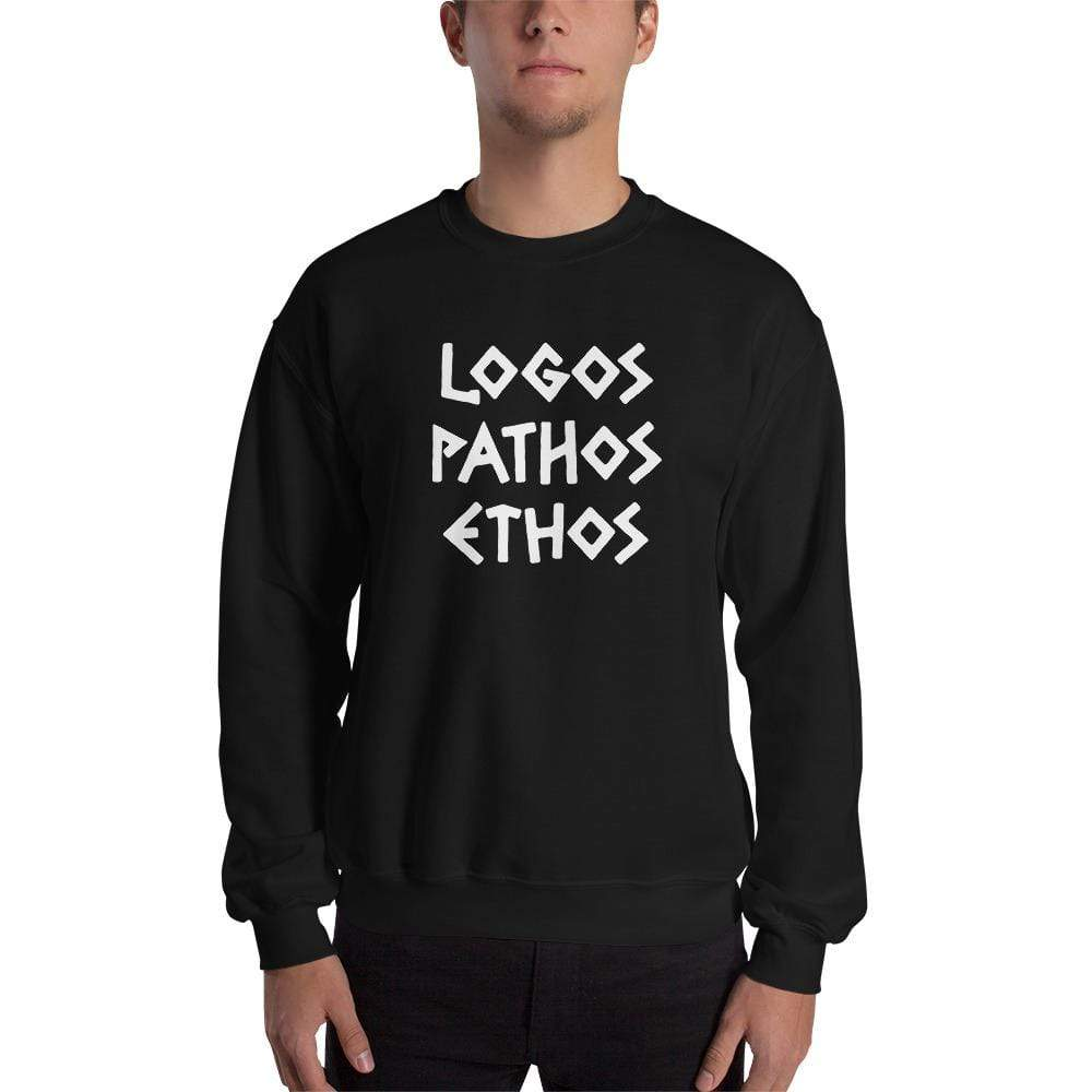 The Philosopher's Shirt Logos Pathos Ethos <br><br>Sweatshirt