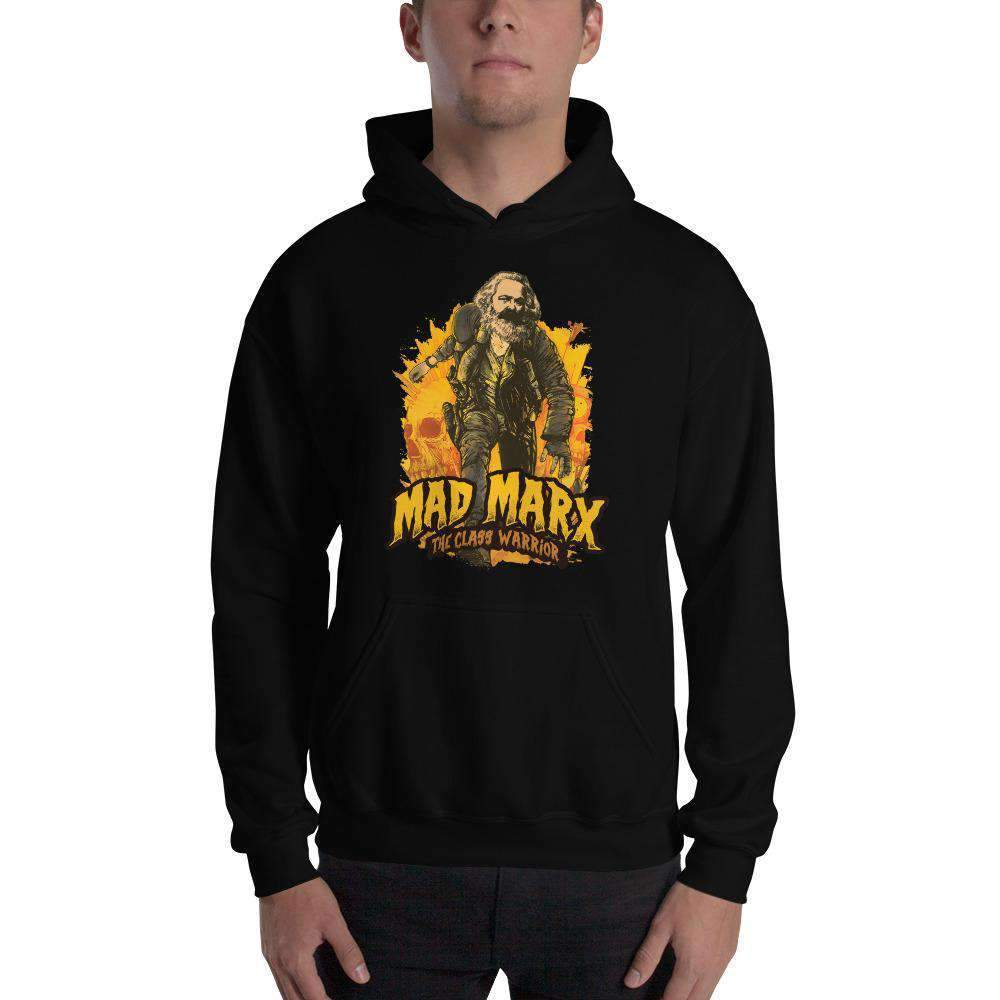 The Philosopher's Shirt Hoodie Mad Marx - The Class Warrior