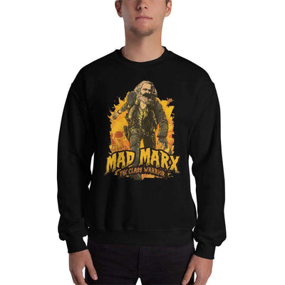 The Philosopher's Shirt Sweatshirt Mad Marx - The Class Warrior