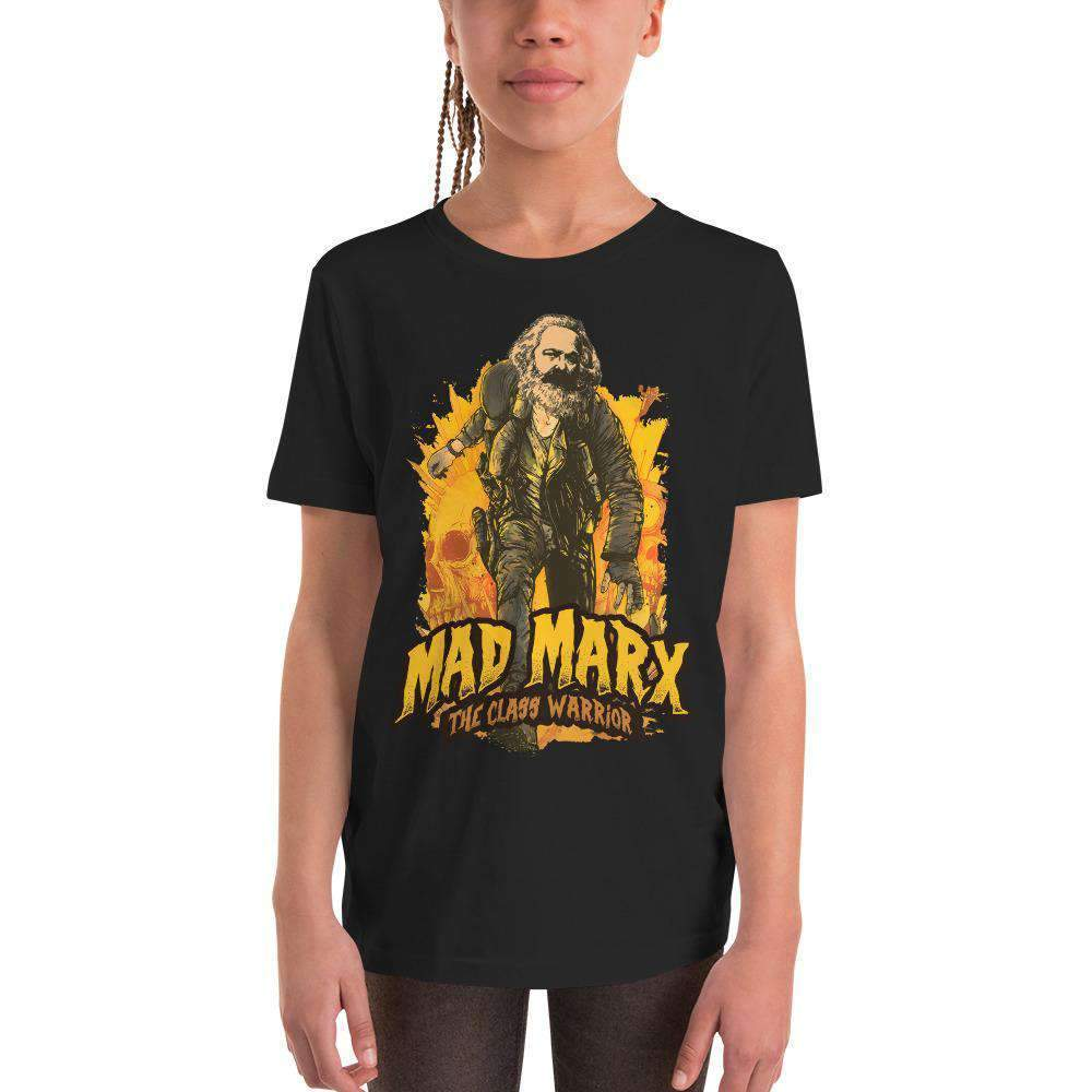 The Philosopher's Shirt Kids Shirt Mad Marx - The Class Warrior