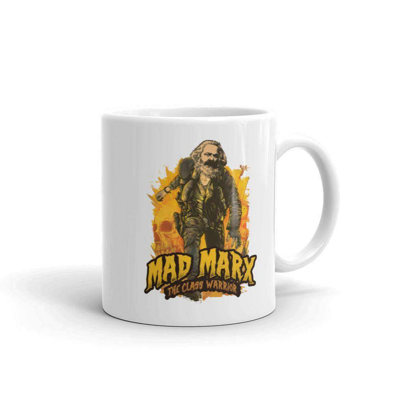 The Philosopher's Shirt Mug Mad Marx - The Class Warrior