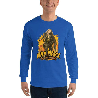 The Philosopher's Shirt Long-Sleeve Tee Mad Marx - The Class Warrior <br><br>Long-Sleeved Shirt