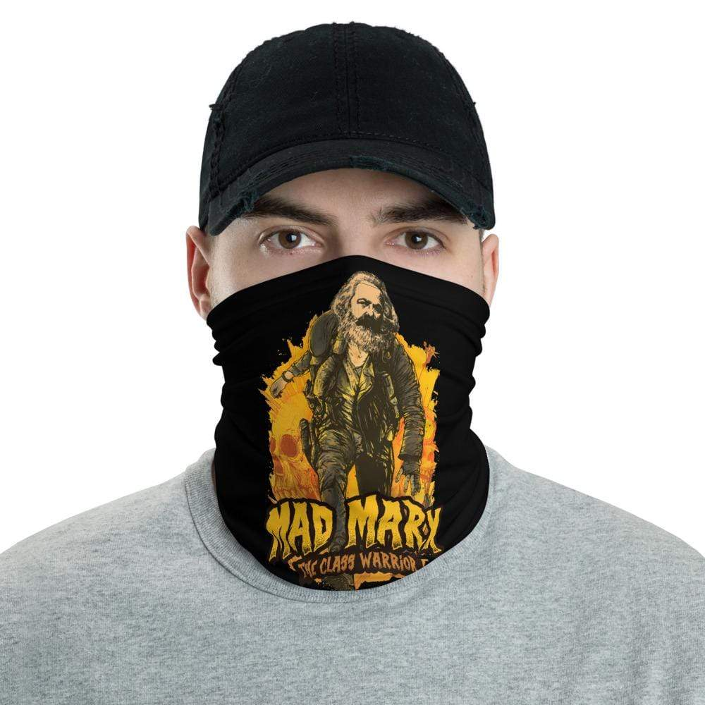 The Philosopher's Shirt Neck Gaiter Mad Marx - The Class Warrior <br><br>Neck Gaiter