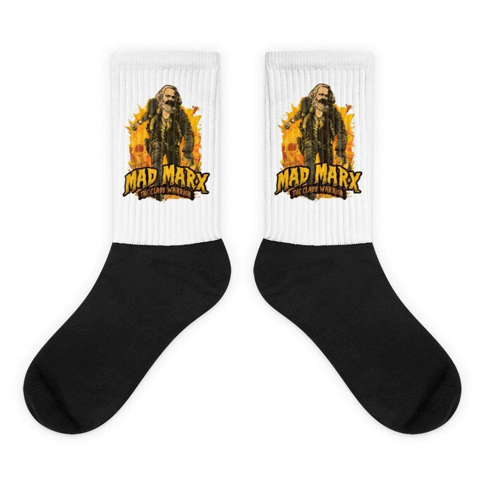 The Philosopher's Shirt Mad Marx - The Class Warrior <br><br>Socks