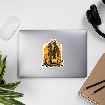 The Philosopher's Shirt Mad Marx - The Class Warrior <br><br>Sticker