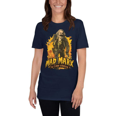 The Philosopher's Shirt Unisex Premium T-Shirt Mad Marx - The Class Warrior <br><br>Unisex Premium T-Shirt