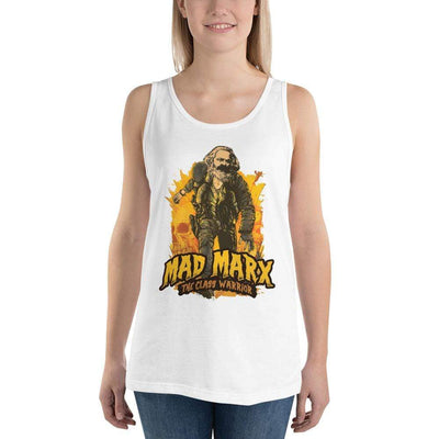 The Philosopher's Shirt Unisex Tank Top Mad Marx - The Class Warrior <br><br>Unisex Tank Top