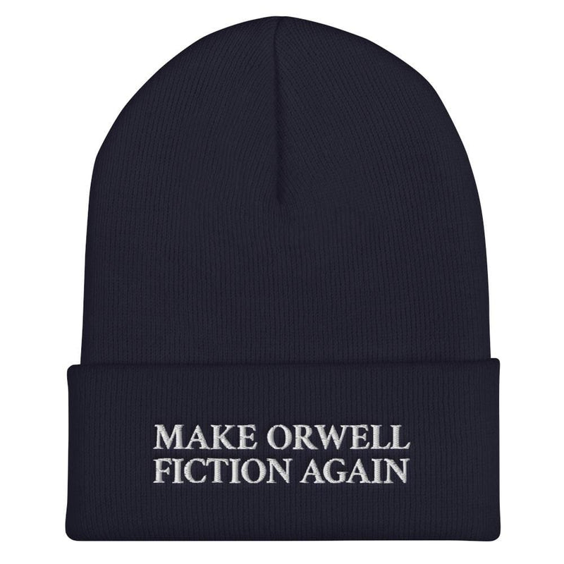 The Philosopher's Shirt Make Orwell Fiction Again - Beanie Hat