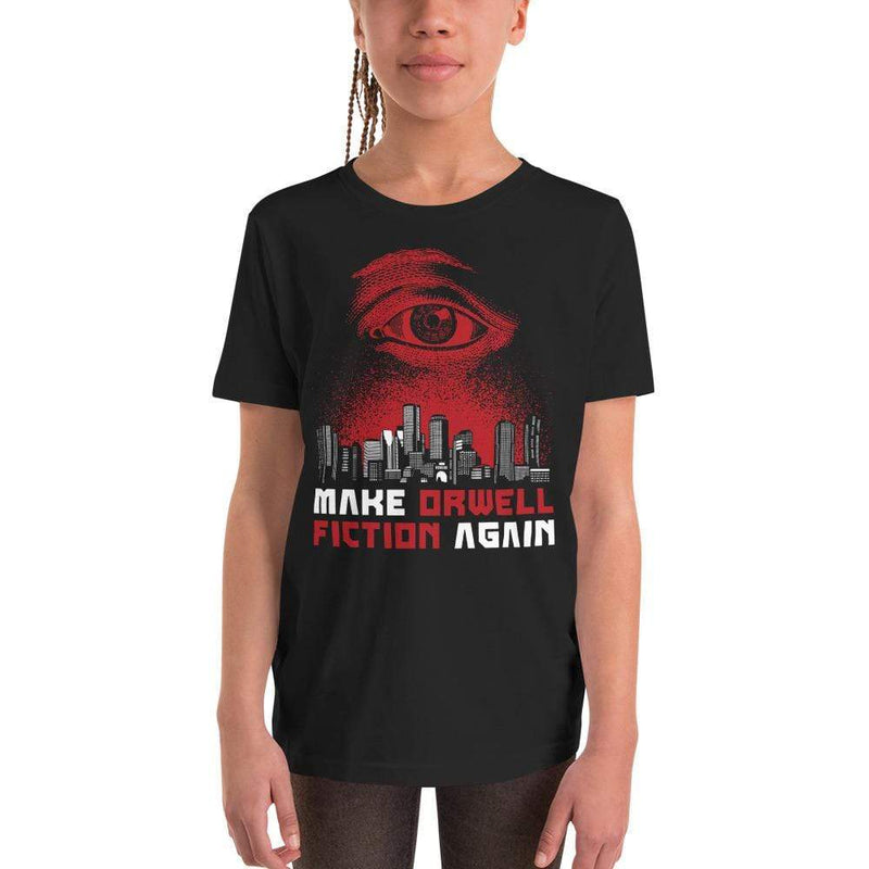 The Philosopher's Shirt Kids Shirt Make Orwell Fiction Again - Dystopian Version <br><br>Kids T-Shirt