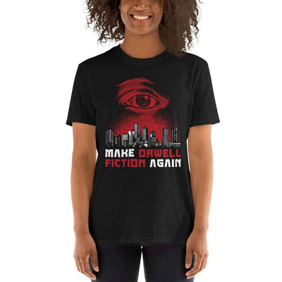 The Philosopher's Shirt Unisex Premium T-Shirt Make Orwell Fiction Again - Dystopian Version <br><br>Unisex Premium T-Shirt