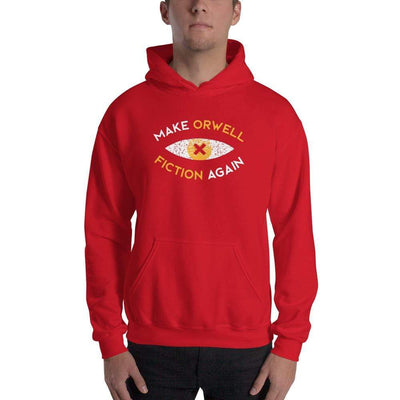 The Philosopher's Shirt Hoodie Make Orwell Fiction Again Recon Eye <br><br>Hoodie