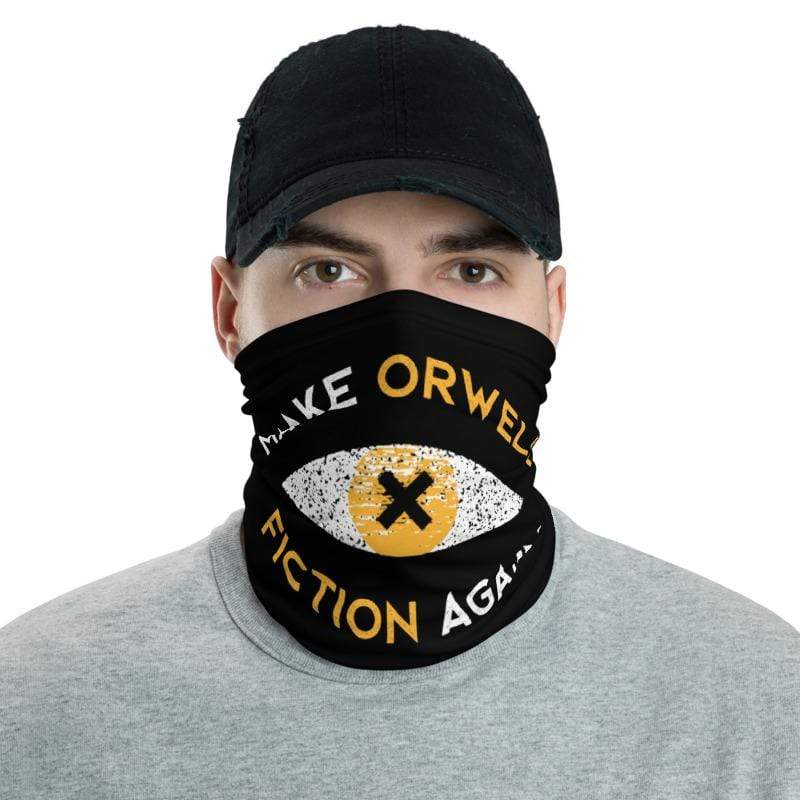 The Philosopher's Shirt Neck Gaiter Make Orwell Fiction Again Recon Eye <br><br>Neck Gaiter