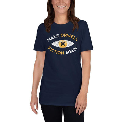 The Philosopher's Shirt Unisex Premium T-Shirt Make Orwell Fiction Again Recon Eye <br><br>Unisex Premium T-Shirt