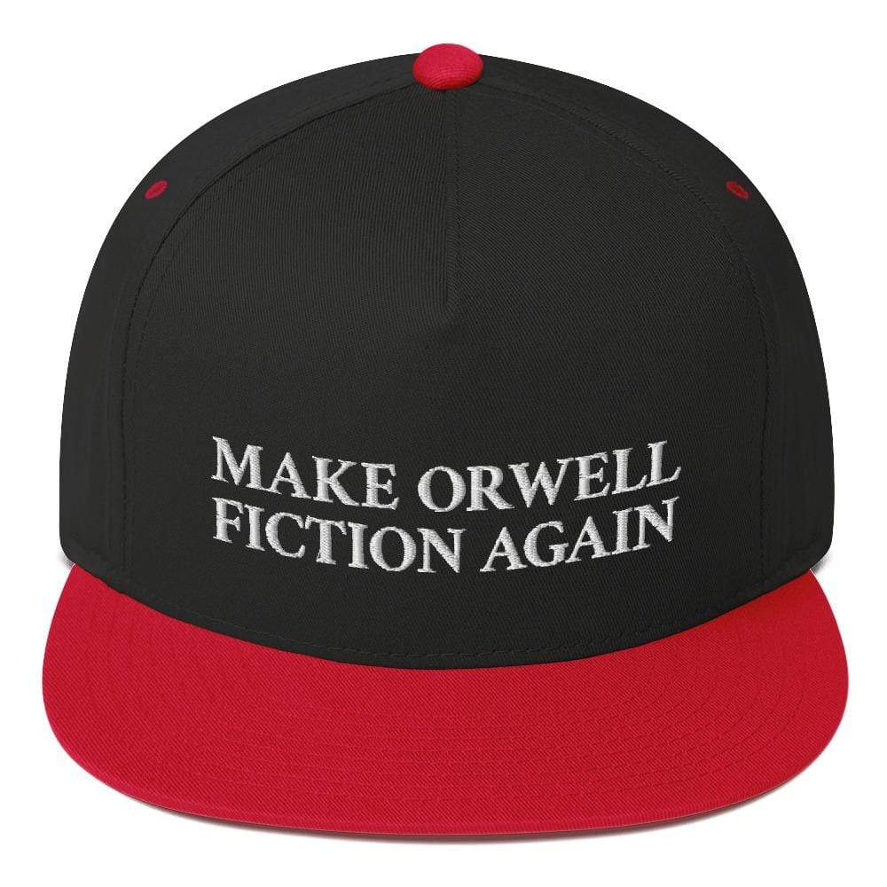 The Philosopher's Shirt Make Orwell Fiction Again - Snapback Cap