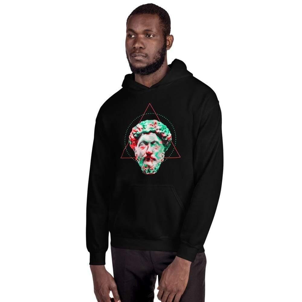 The Philosopher's Shirt Hoodie Marc Aurel - Vivid Colours For Trippy Heads <br><br>Hoodie
