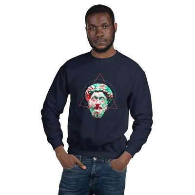 The Philosopher's Shirt Sweatshirt Marc Aurel - Vivid Colours For Trippy Heads <br><br>Sweatshirt